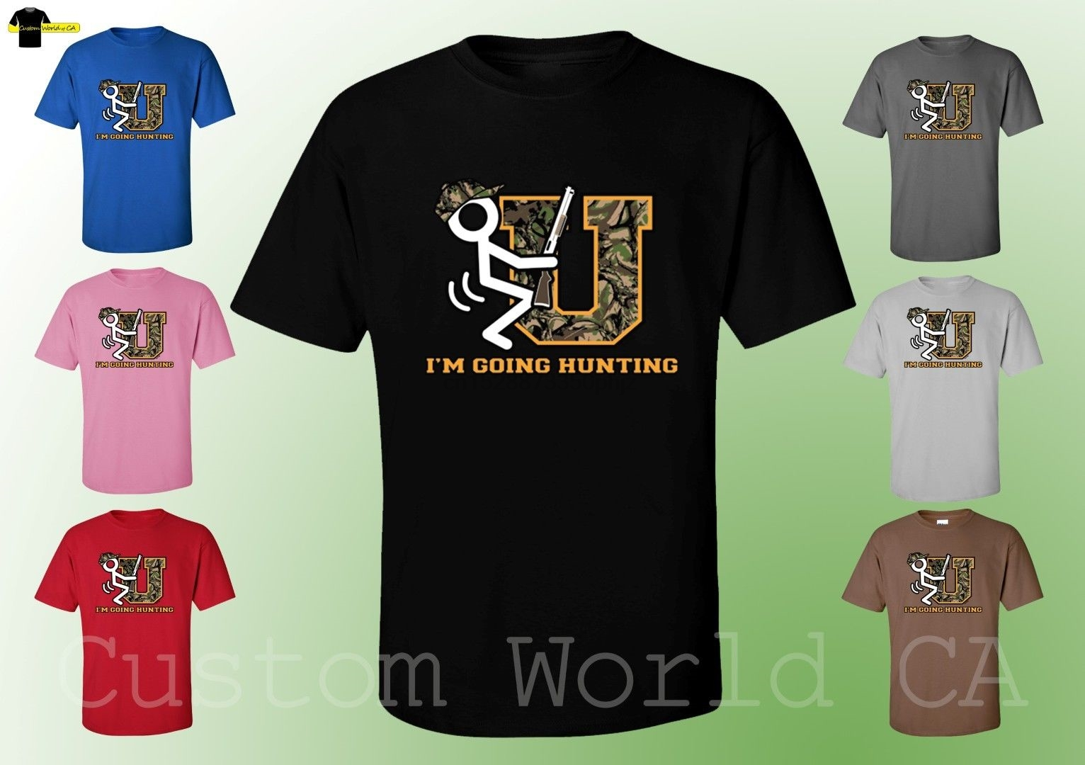 I/'m Going Hunting New Design Men Tee Men T-Shirt