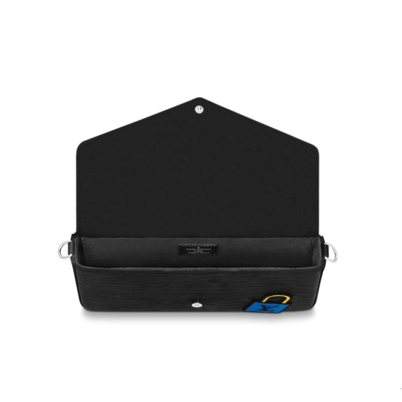 / new POCHETTE FÉLICIE black three-in-one ladies messenger bag M63726