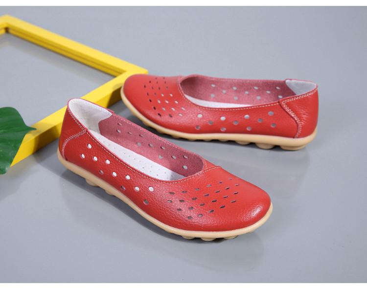 AH 5929-1-2019 Summer Woman Flats Cut-Outs Women Loafers-27