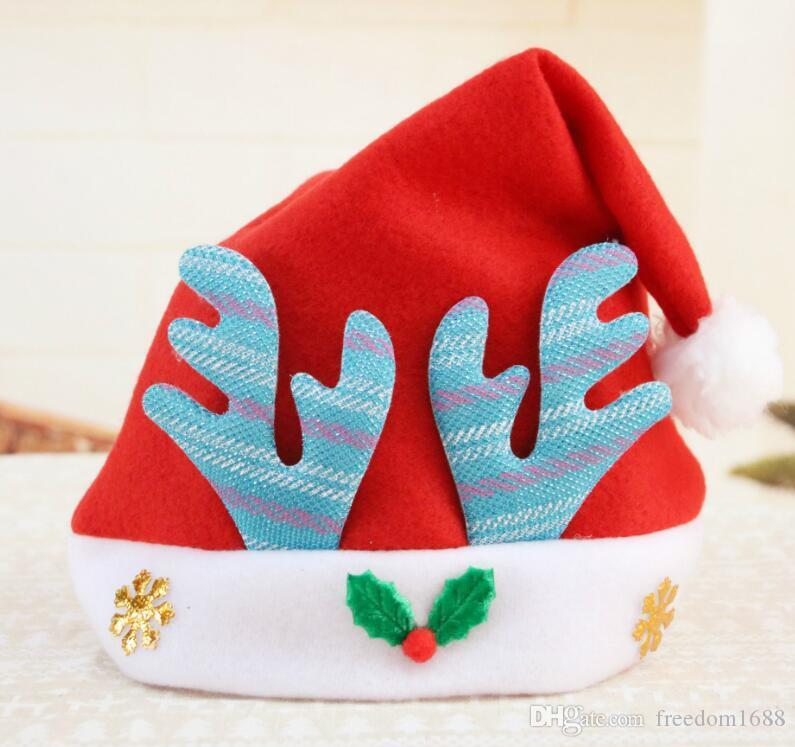 New Kid Christmas Decoration hats Cartoon Christmas hat David