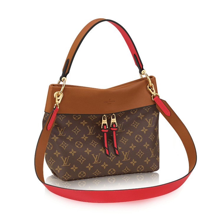 / TUILERIESBESACE, women's three-color old-fashioned shoulder bag, portable, shoulder, crossbody, canvas/with leather M43157