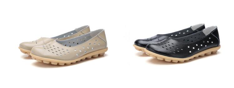 AH 5929-1-2019 Summer Woman Flats Cut-Outs Women Loafers-4