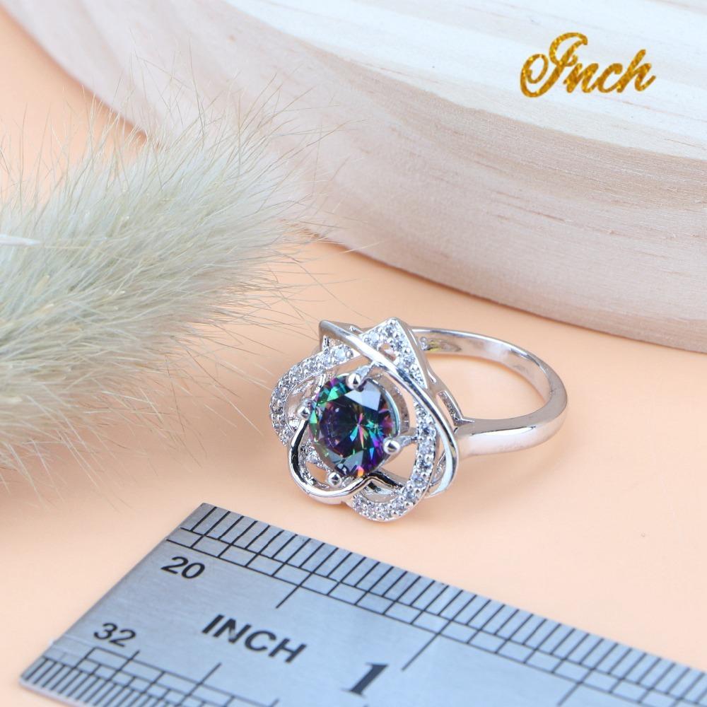 Zircon Silver 925 Jewelry
