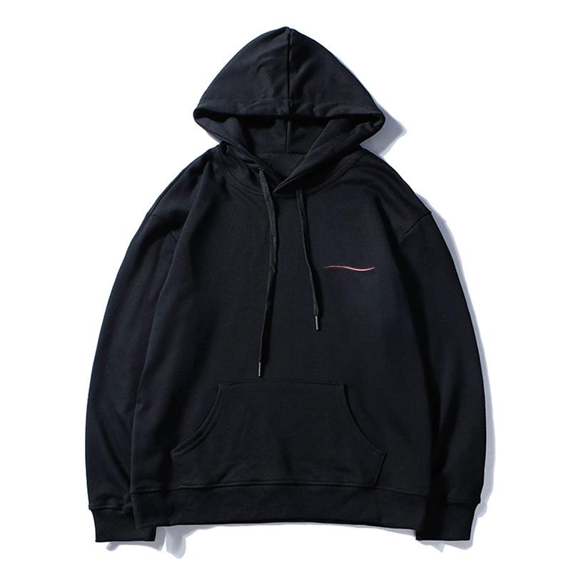 Mens Clothing Homme Hooded Sweatshirts Mens Women Stylish Hoodies High Street Supremo Print Hoodies Pullover Winter Sweatshirts