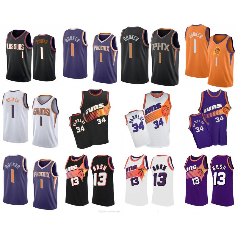 Ldfn Mens Basketball Jersey Steve Nash 13 Phoenix Suns New Fabric Embroidered Jersey Sleeveless Shirt S