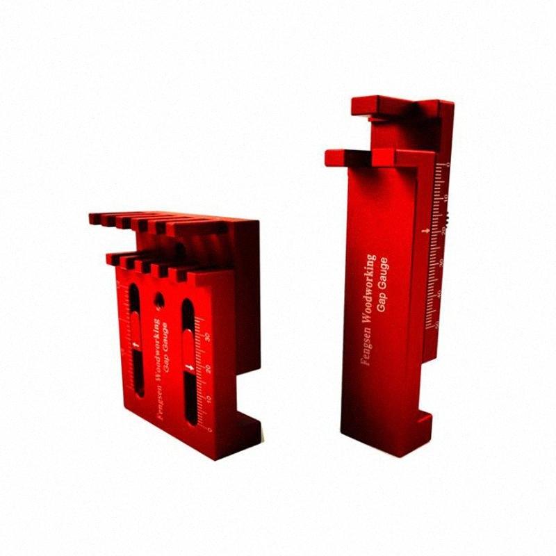 Tischler Lineal Gauge Holzbearbeitung Sägezahn Tischler Lineal Messwerkzeug