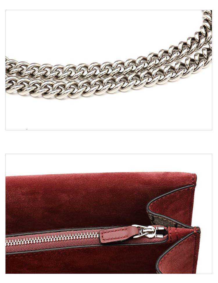 19 spring and summer  /  Dionysus series women's other materials shoulder bag Messenger bag 400249KU23N