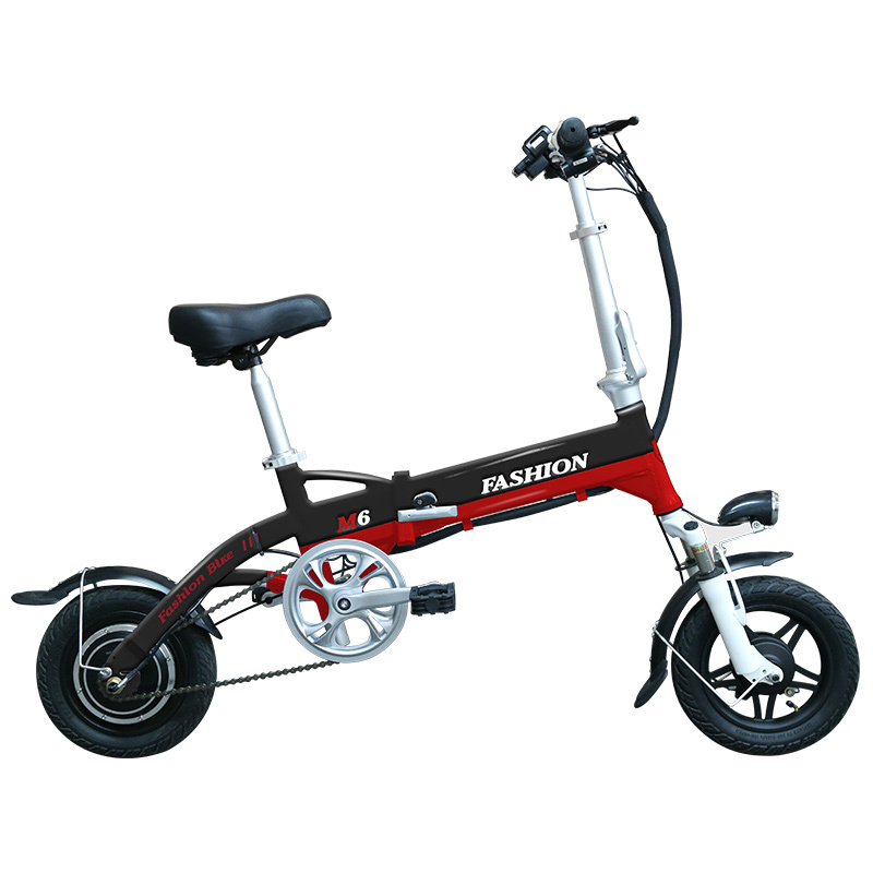New Electric Bike 36V Two Wheels Electric Bicycle FrontRear Brake System WhiteBlueBlack Adult Folding Electric Scooter (3)