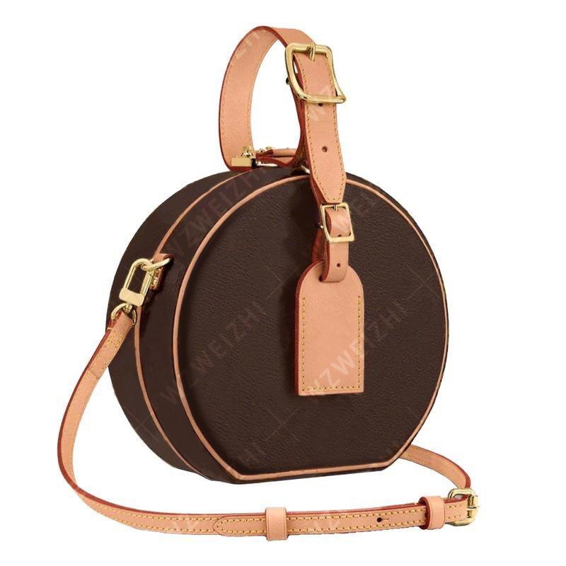 Top designers handbag M43510 Monogram circular PU shoulder bag messenger bag clutch wallet palm spring Presbyopia circular bag