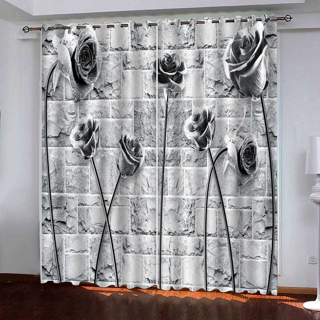 Wholesale Black Kitchen Curtains Buy Cheap In Bulk From China Suppliers With Coupon Dhgate Com