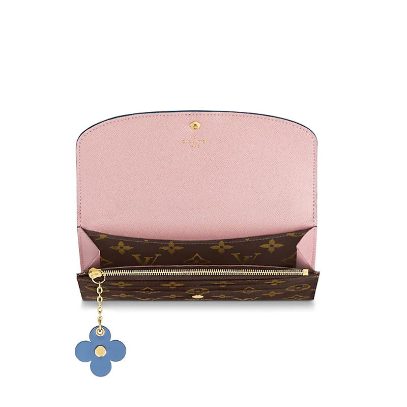 / 19 spring and summer ladies old pattern small flower decoration EMILIE wallet M63895