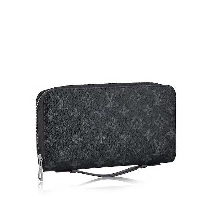 /  men's black MonogramEclipse canvas presbyopic clutch bag / with leather M61698 (scheduled goods 2-3 weeks after delivery)