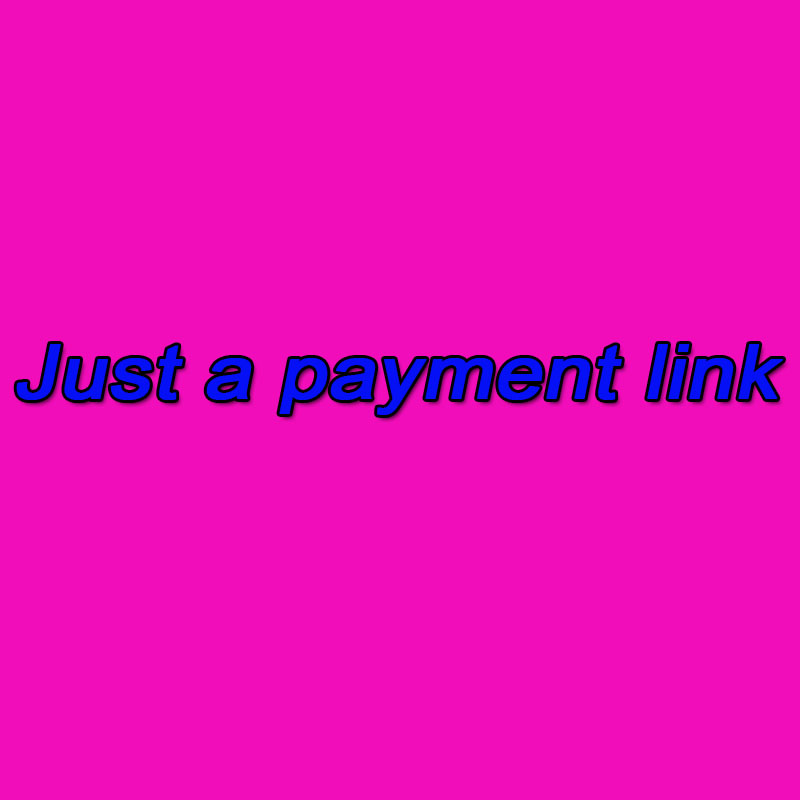 Cannot order here. This is just a payment link Please understand that this is just a payment link Payment link 2