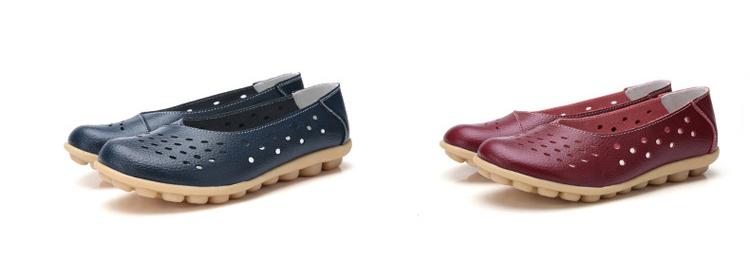 AH 5929-1-2019 Summer Woman Flats Cut-Outs Women Loafers-6