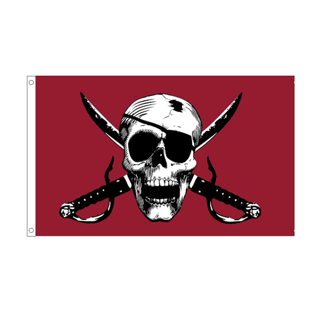 10 pc Crossbones Pirate Flag 3x5 ft Halloween bulk buy cheap