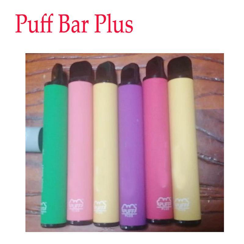 New 800+ Puff Bar Plus 550mAh 3.2mL Puff Plus With Security Code Disposable Pre-Filled Vape Pen POD Stick Style Device Starter Kit