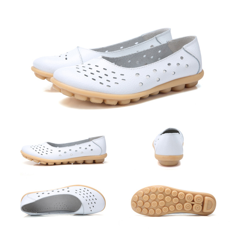 AH 5929-1-2019 Summer Woman Flats Cut-Outs Women Loafers-3