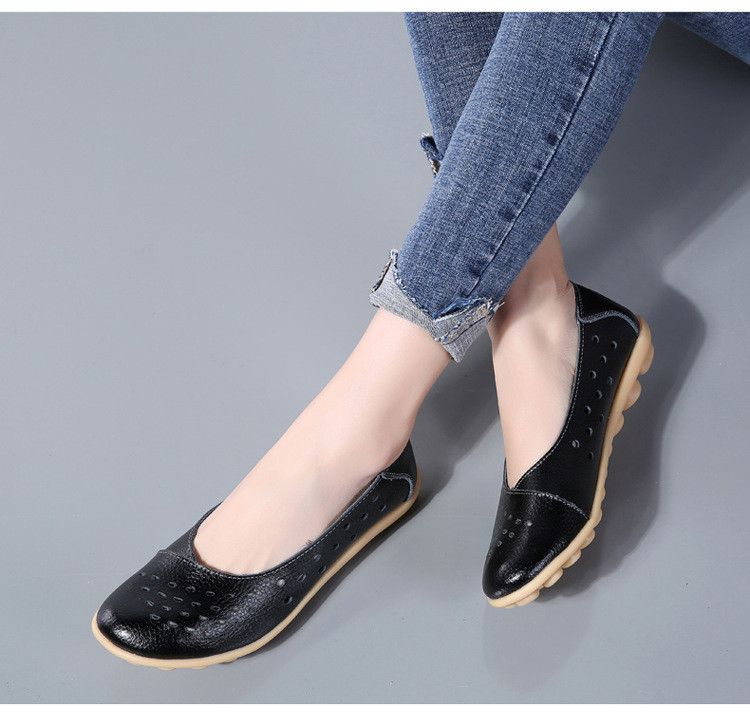 AH 5929-1-2019 Summer Woman Flats Cut-Outs Women Loafers-18