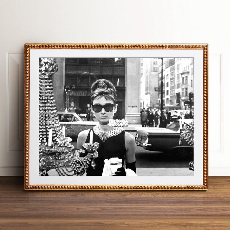 Audrey Hepburn Fashion Print