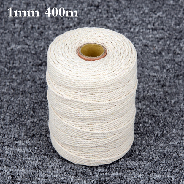 WYMAODAN Soft Rope Cord Purple 2Pcs 10 M//33 Feet 8 MM All Purpose Cotton Rope Craft Rope Thick Cotton Cord