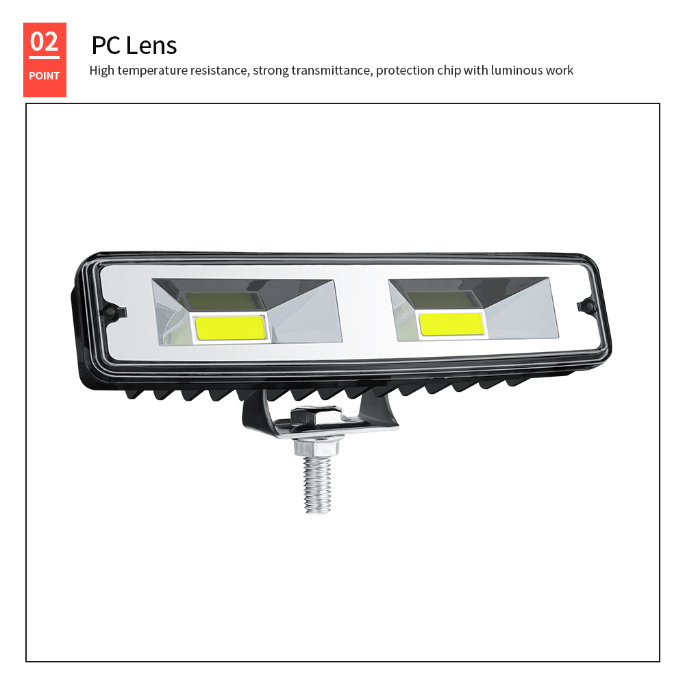 DXZ 6 inch COB 48W Offroad Spot Work Light Barre Led Working Lights Beams Car Accessories for Truck ATV 4x4 SUV