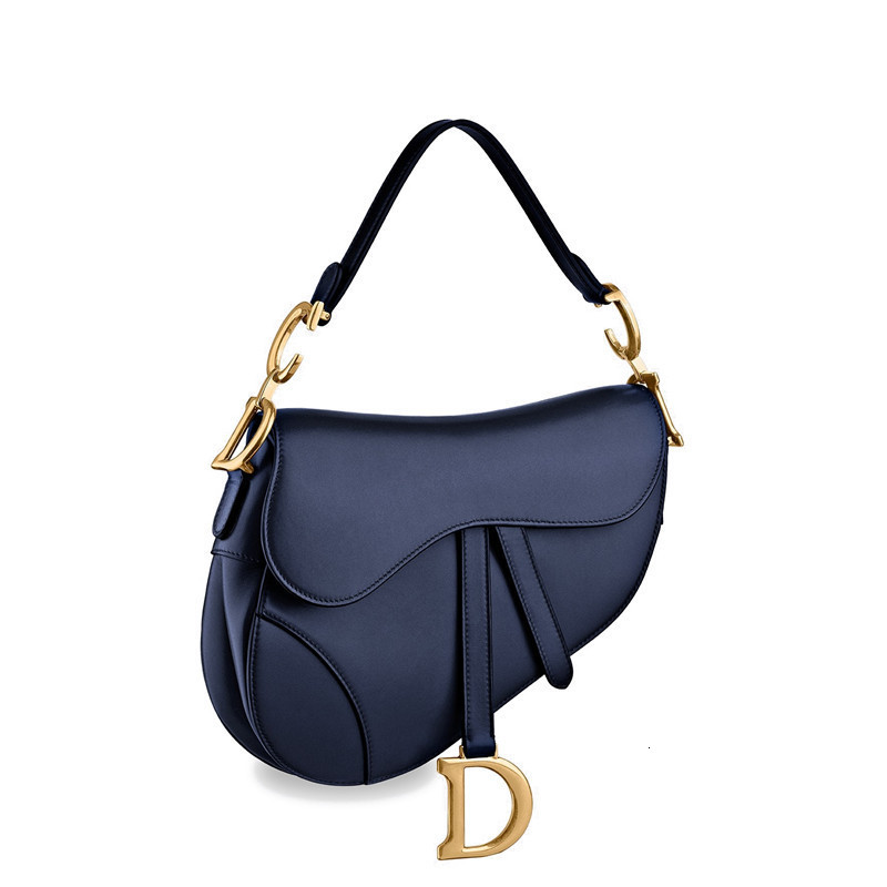 /  19 spring and summer new ladies Saddle smooth calf leather shoulder bag (2 colors optional) M0446CWGH_M85B