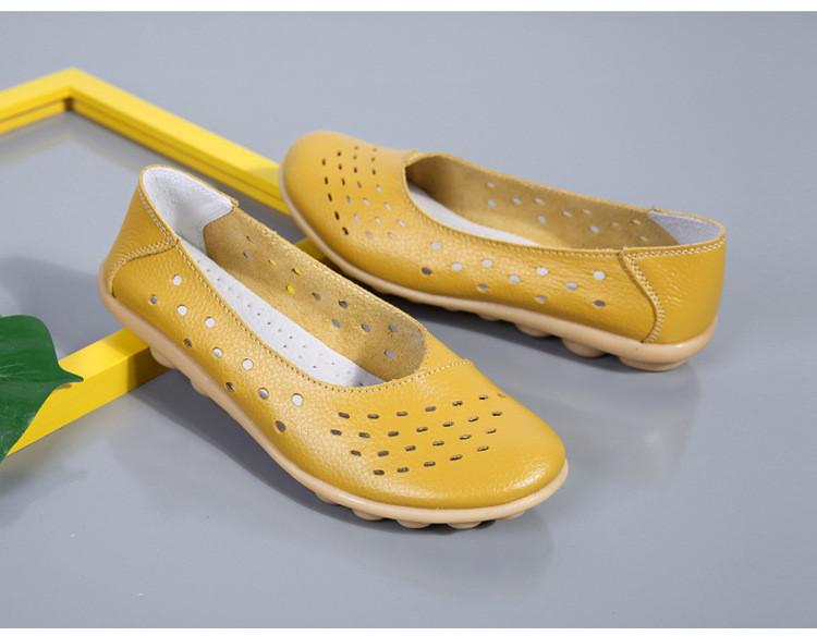 AH 5929-1-2019 Summer Woman Flats Cut-Outs Women Loafers-26
