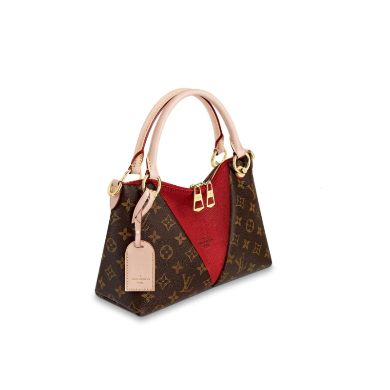 /  new VTOTEBB classic old flower with cherry red with shoulder strap ladies shoulder bag M43966