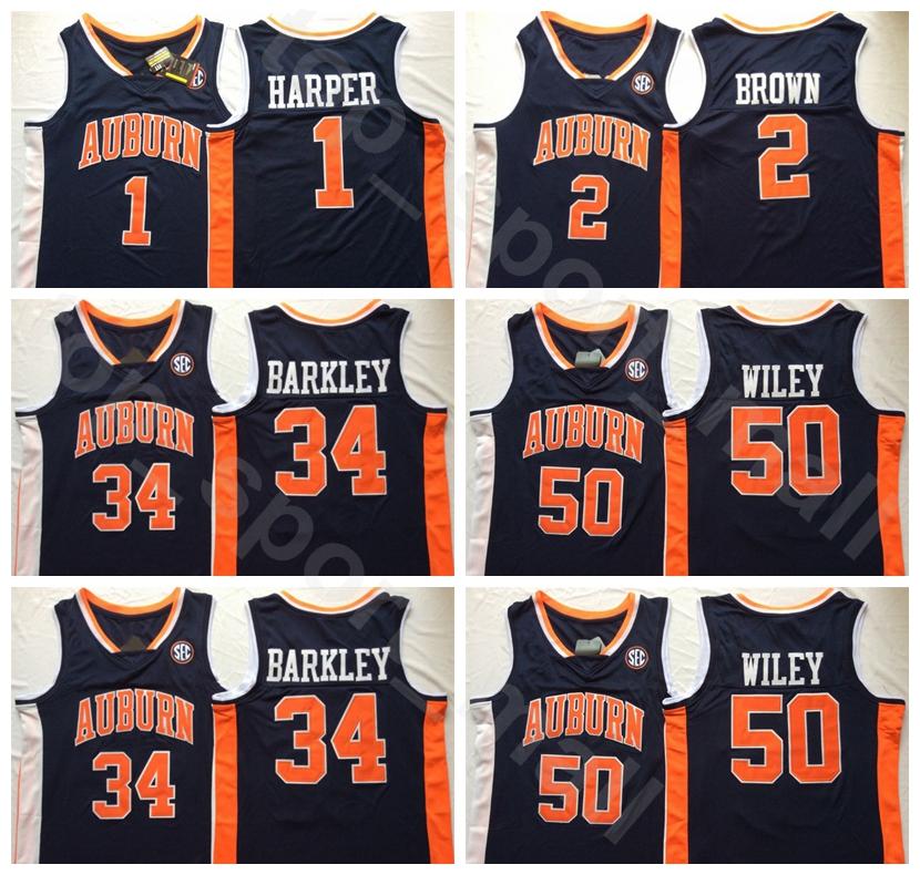 Austin Wiley Auburn Tigers Final Four Basketball Jersey - Navy
