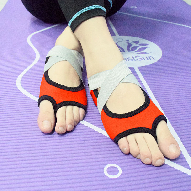 Criss CROSS schläppchen Scarpe da ginnastica show danza yoga cotone GS