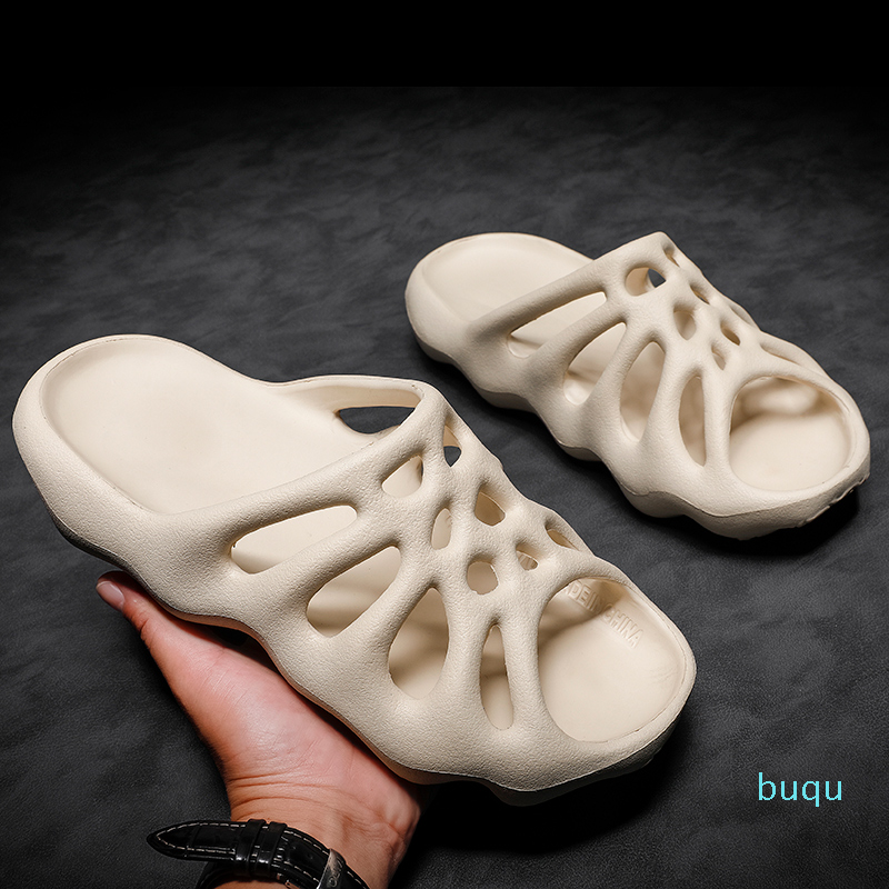 Hot Sale- Men Slippers Water Shoes for Men Quick Drying Summer Beach Slippers Breathable Outdoor Sandals Male Slides Shoes Sandalia