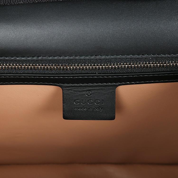 /  Lilith series snake head buckle bow ribbon bamboo handle ladies leather handbag shoulder bag back bag 453751CVLRN beige white code