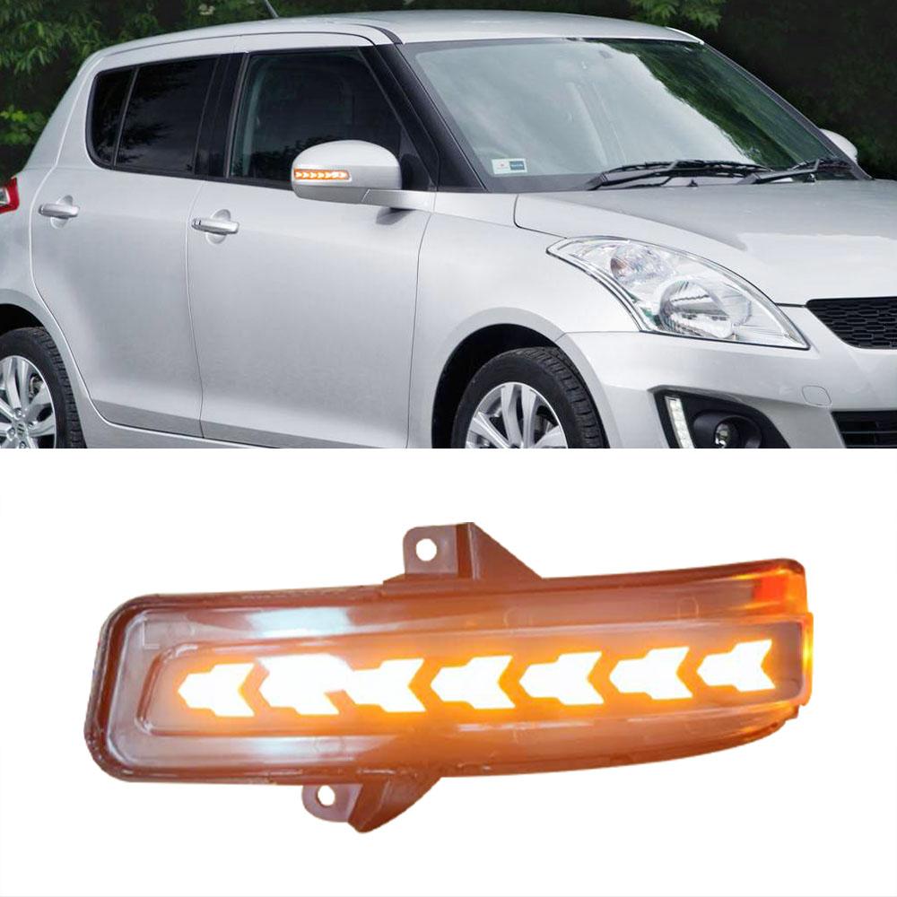 Tuqiang Tagfahrlicht f/ür S-uzuki Swift 2013-2017 DRL LED Tagfahrlicht Auto Zubeh/ör Blinker Nebelscheinwerfer Einfarbig 1 Paar