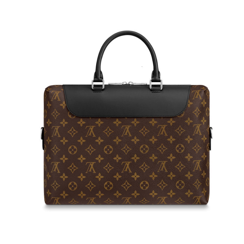 /  PORTE-DOCUMENTS classic canvas / with leather men's dual-use briefcase M54019
