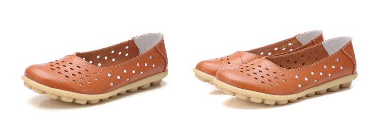 AH 5929-1-2019 Summer Woman Flats Cut-Outs Women Loafers-8