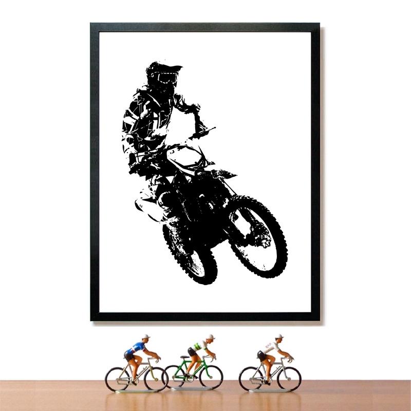 Motocross Rider Prints Home Decor