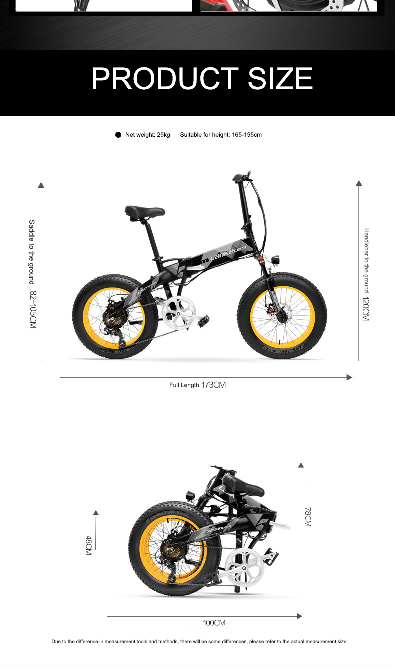 Daibot Electric Scooter Adults Two Wheels Electric Bicycle 20 Inch Big Tire 500W Electric E Bike Scooter With Double Brake (11)