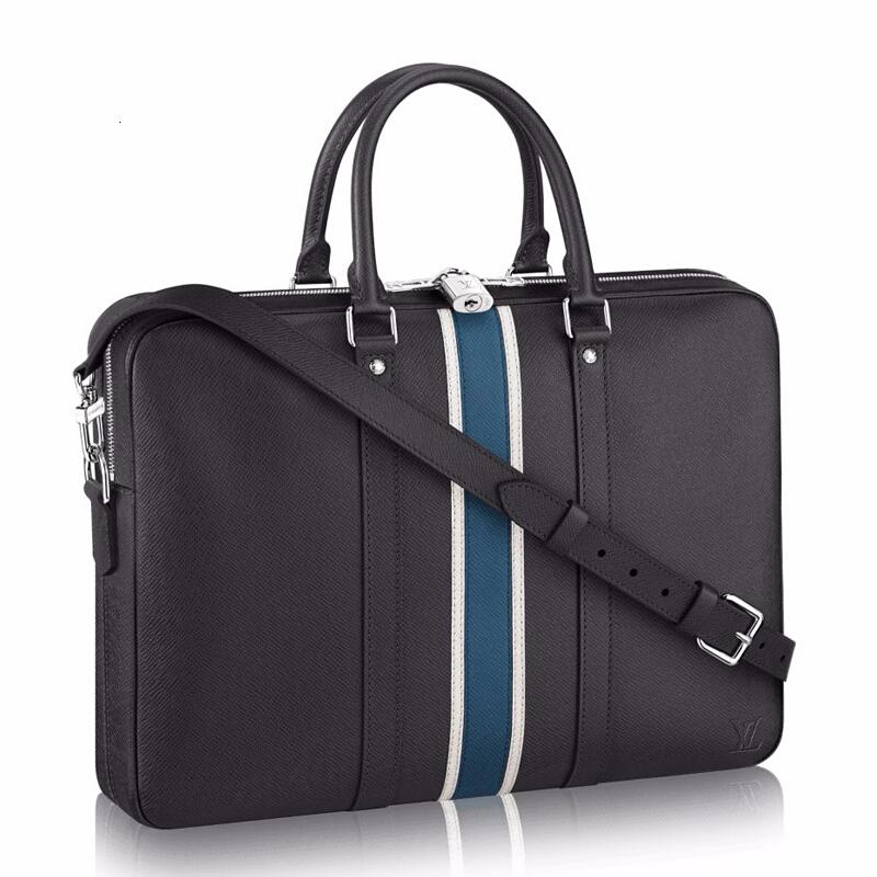 / Men's Bag Taiga Leather Tie Official Document Handbag M34418