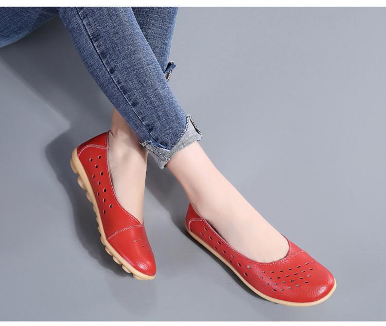 AH 5929-1-2019 Summer Woman Flats Cut-Outs Women Loafers-17