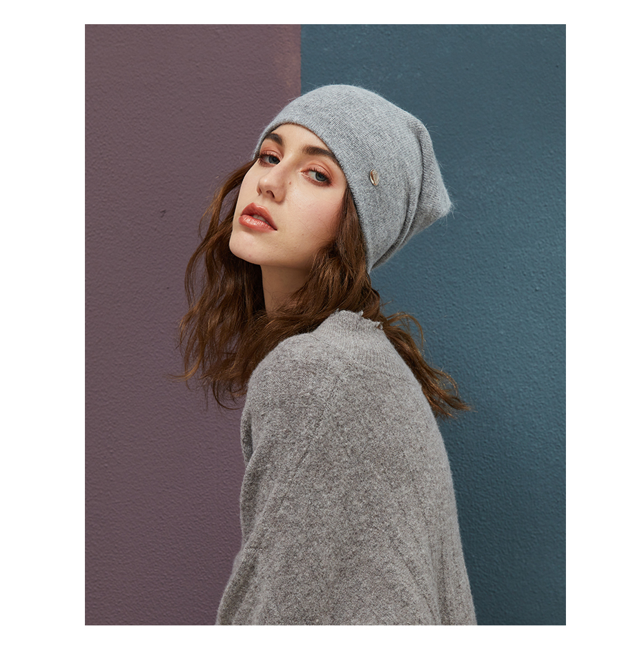 MOSNOW Female Beanies For Girls Cotton High Quality Hat Soft Fashion Accessory Winter New Headwear Brand Hats For Women3 (15)