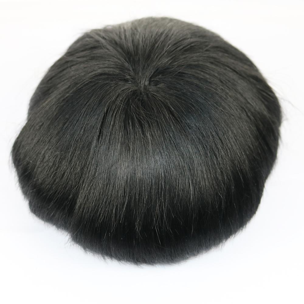 thin skin toupee hair