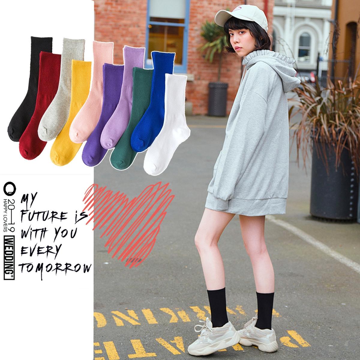 Donna Bambina Scuola Colorato Frilly Pizzo Calzini Alla Caviglia in 3 colori Taglia 4-6