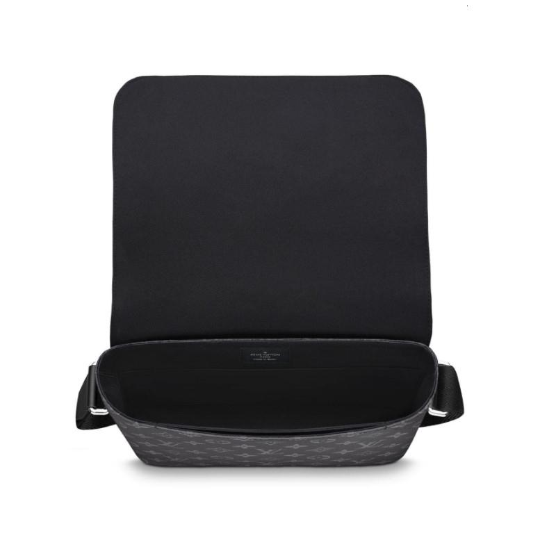 / DISTRICT Classic Print Black Medium Fashion Men's Crossbody M44001