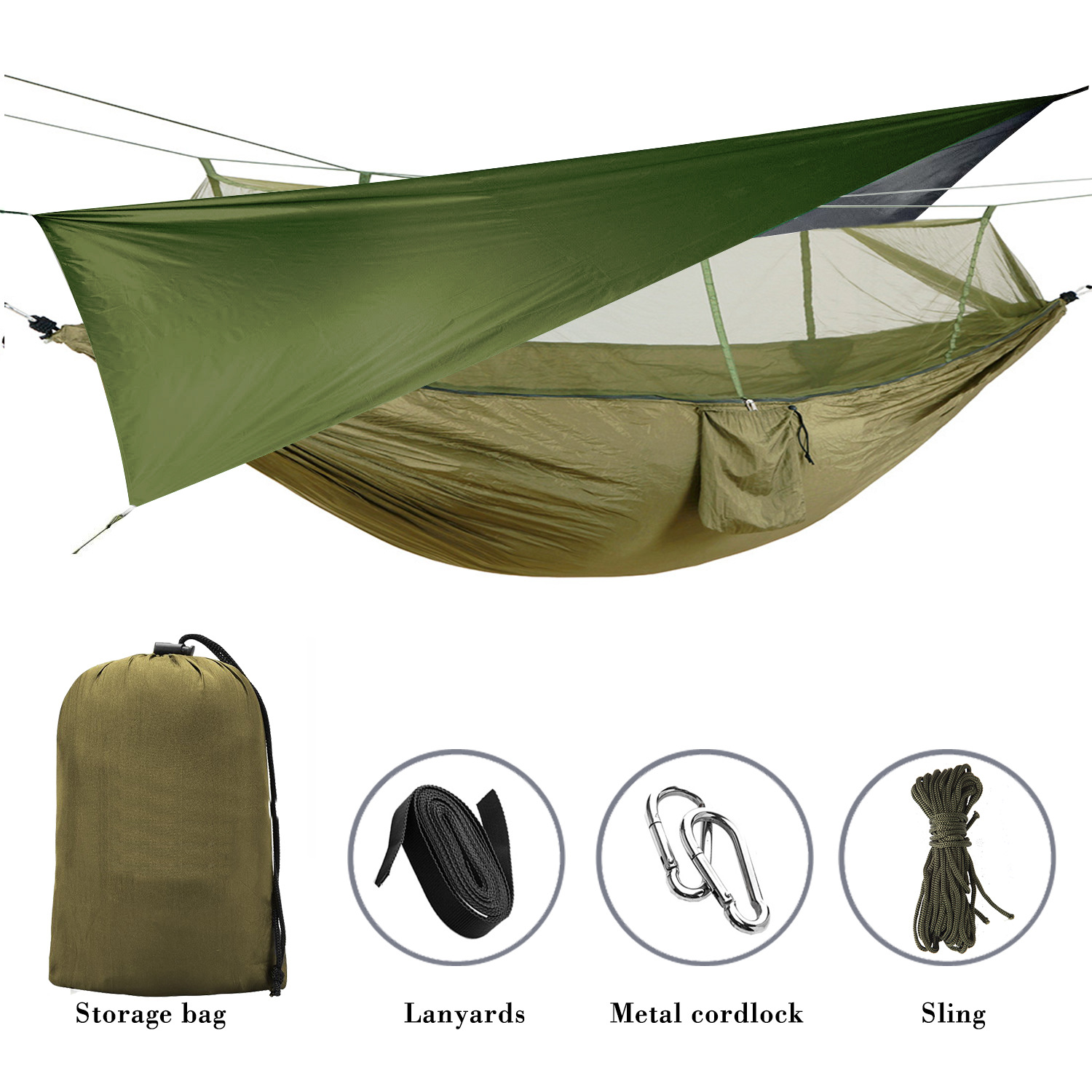 Sky Curtain with Mosquito Net Army Green 1500.jpg