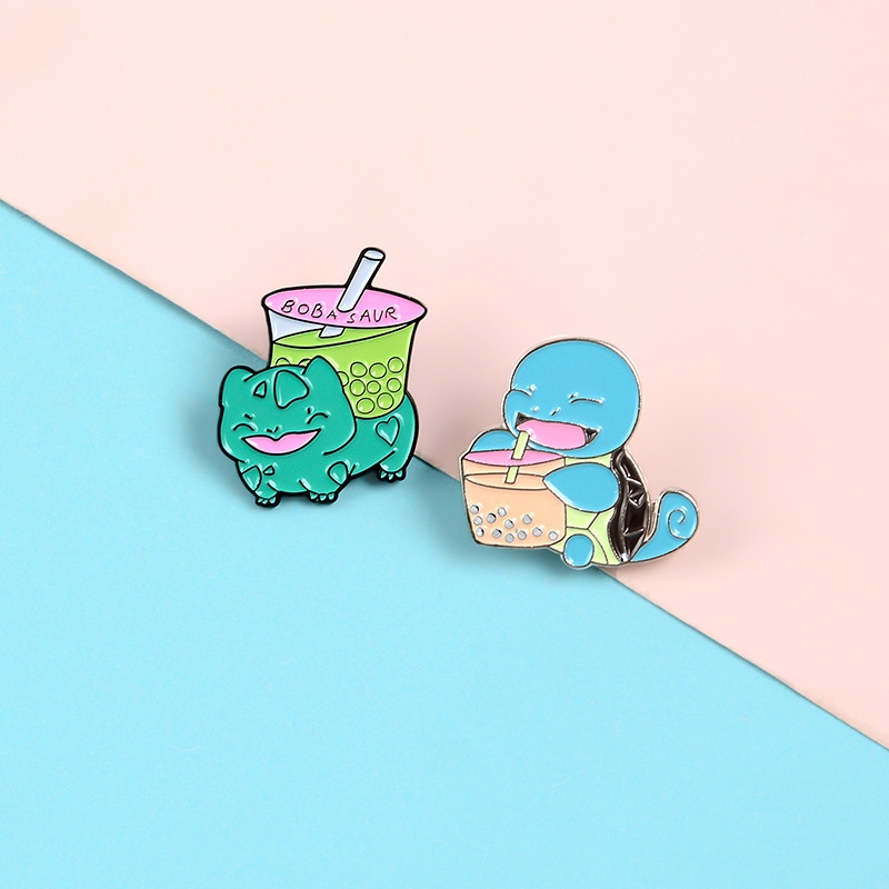Cartoon Turtle Cute Small Funny Enamel Brooches Pins for Women Girl Men Christmas Gift Demin Shirt Decor Brooch Pin Metal Kawaii Badge