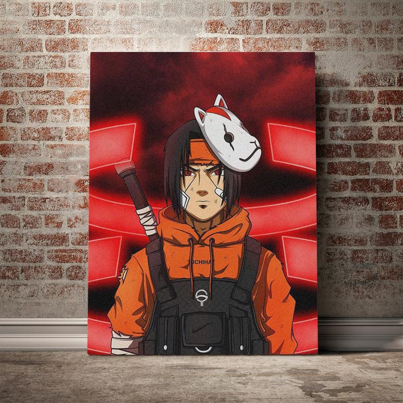 2021 Itachi Uchiha Naruto Anime Fashion Canvas Poster Painting Wall Art Decor Living Room Bedroom Study Home Decoration Prints From Xu793737893 6 69 Dhgate Com
