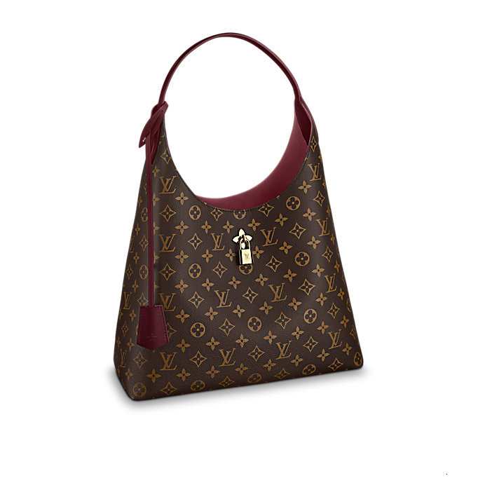 /  new lady presbyopia wine red shoulder bag canvas / with leather M43547