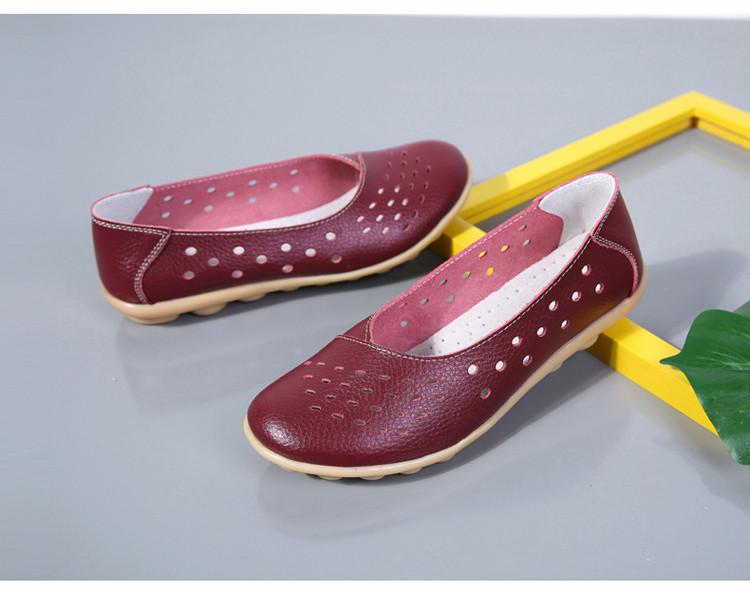 AH 5929-1-2019 Summer Woman Flats Cut-Outs Women Loafers-24