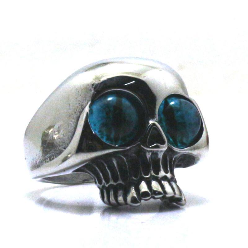 Stainless Steel Blue Eyes Skull Ring Online Shopping Buy Stainless Steel Blue Eyes Skull Ring At Dhgate Com