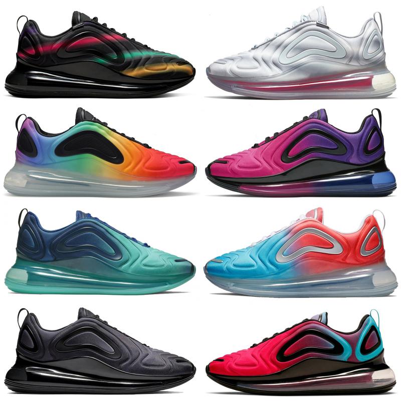 720OG BE TRUE University Blue Void Sea Forest Red Orbit Teal Nebula OG Mens Womens Running Shoes Be True Triple Black Sneakers